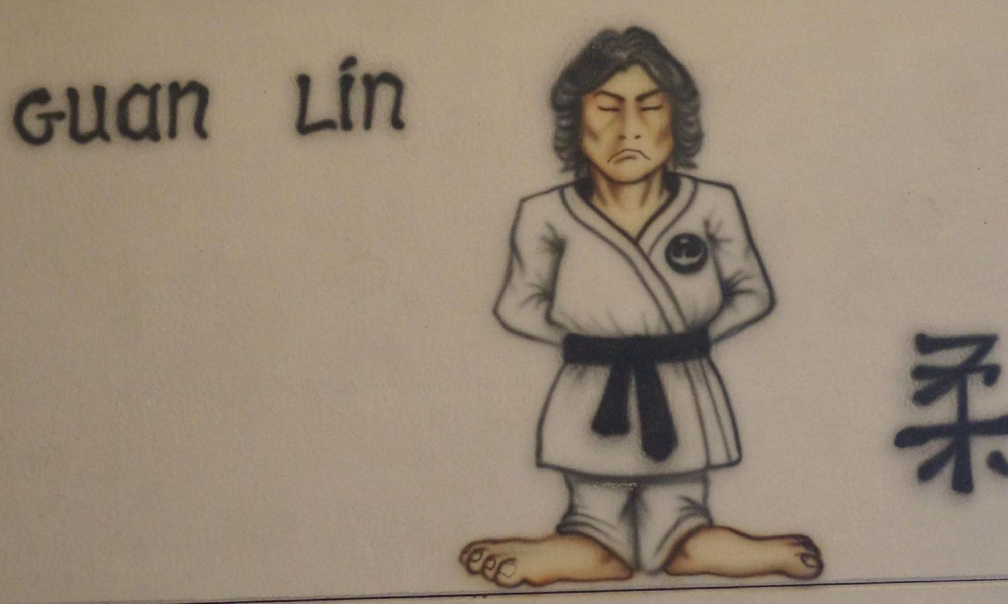Guan Lin - Judo op De Mussen